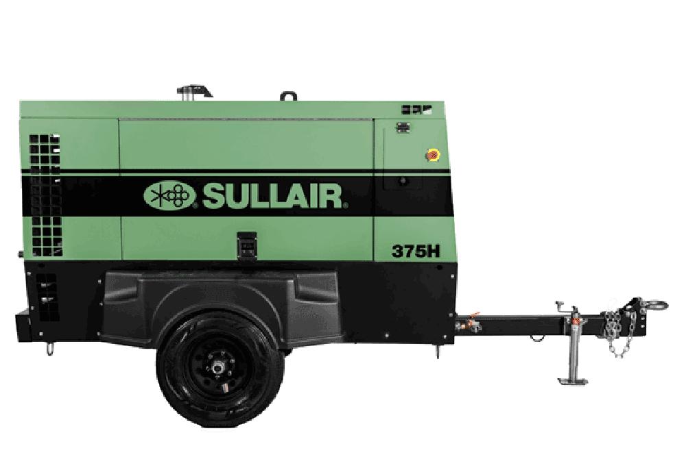 375h Tier 4 Final Portable Air Compressor Sullair
