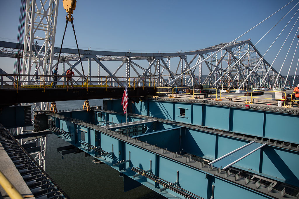 Sullair compressors used on New NY Bridge Project
