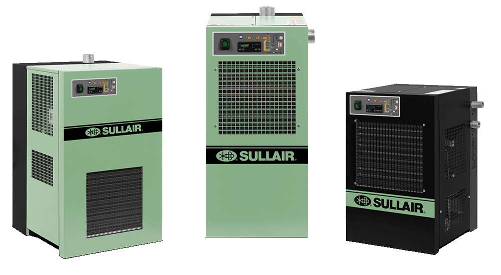 Sullair Refrigerated Compressed Air Dryer Assortment