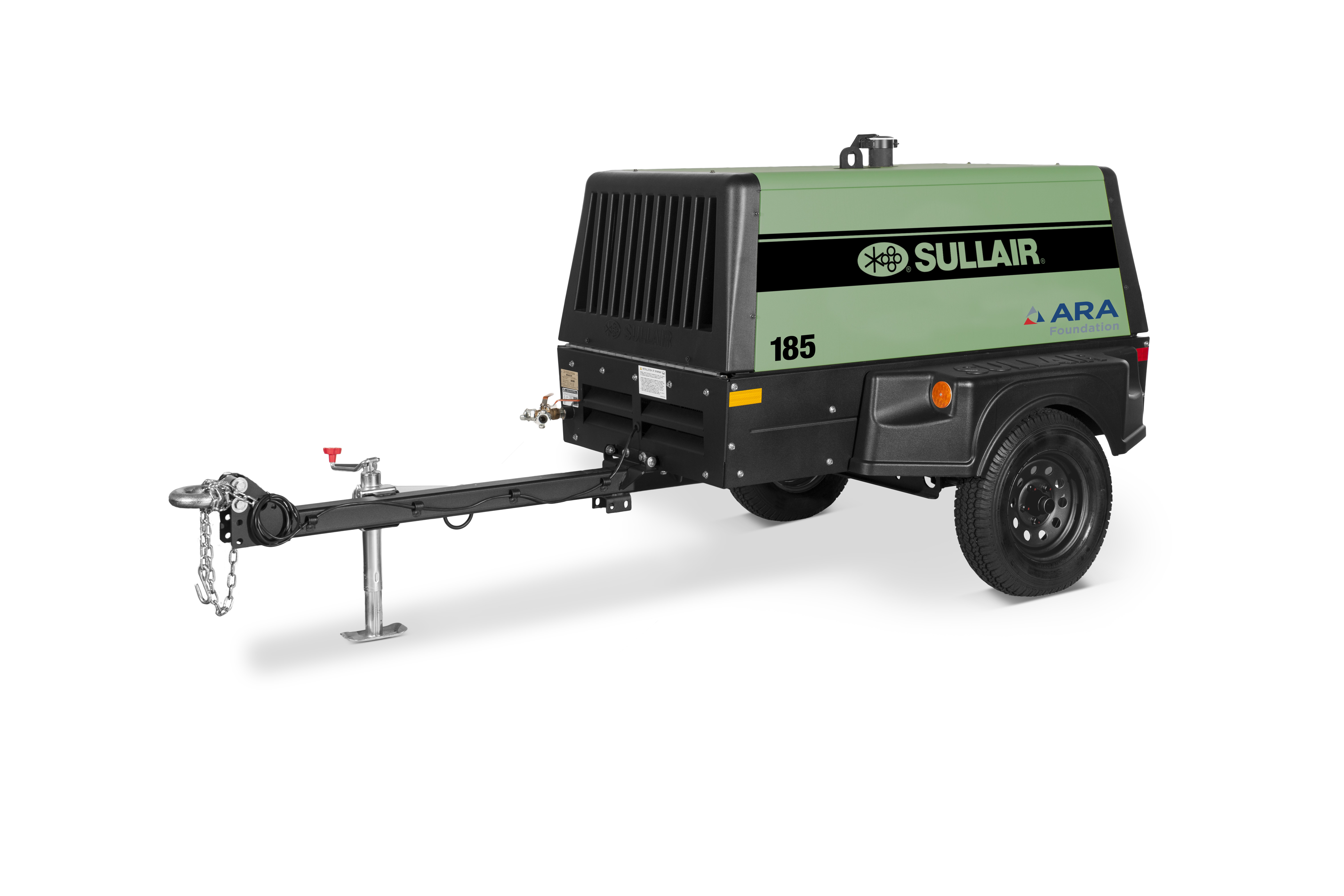 Sullair 185 Tier 4 Final Portable Diesel Air Compressor with ARA Decal