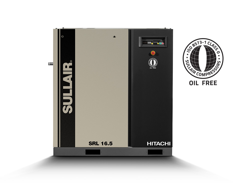 Sullair/Hitachi SRL16.5 oil free scroll air compressor