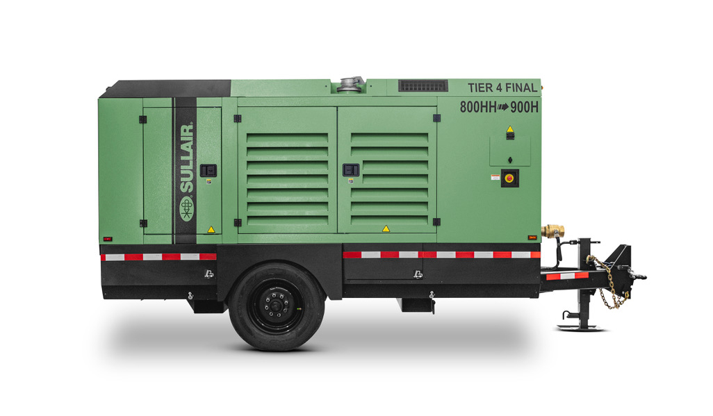 Sullair Introduces Mid-Range Series Portable Air Compressors
